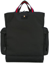 Gucci Techno canvas drawstring backpack - men - Polyester - One Size