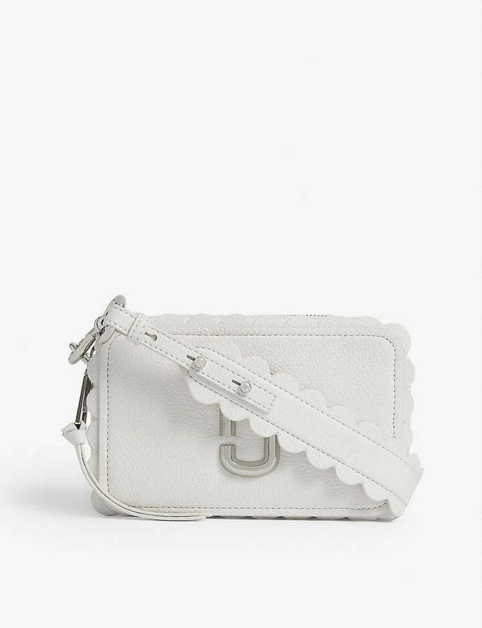 Marc Jacobs Softshot 21 scallop leather cross-body bag