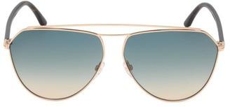 Tom Ford Binx 53MM Aviator Sunglasses