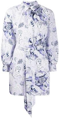 Baum und Pferdgarten Floral Print Shirt Dress