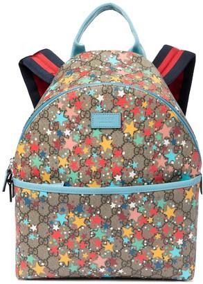 Gucci Kids GG Supreme canvas backpack