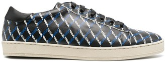 Paul Smith Checked Print Sneakers