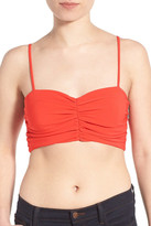 KENDALL + KYLIE Kendall & Kylie Ruched Crop Bustier