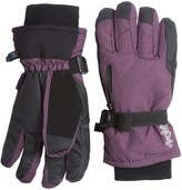 Auclair Breather Zip Gloves - Waterproof, Insulated (For Women)