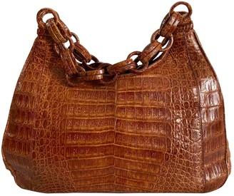 Nancy Gonzalez Camel Crocodile Handbags