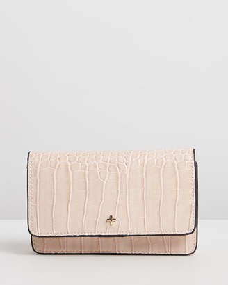 PETA AND JAIN - Women's Nude Cross-body bags - Koa - Size One Size at The Iconic