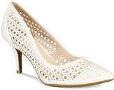 Alfani Women's Step 'N Flex Jennah Perforated Pumps, Only At Macy's