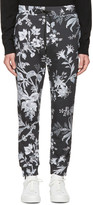 McQ by Alexander McQueen Grey Floral Lounge Pants