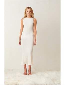 Bec & Bridge Bec + Bridge White Water Midi Dress