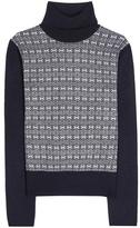 Tory Burch Sabino Wool And Alpaca-blend Turtleneck Sweater