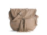 Crown Vintage Tassel Flap Cross Body Bag