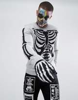 Asos Halloween Skeleton Sweater