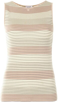 1998 Knitted Striped Top