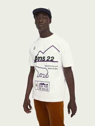 Scotch & Soda Artwork short sleeve t-shirt | Men