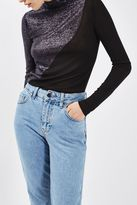 Boutique Swirl roll neck top