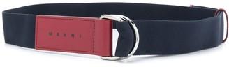 Marni D-ring buckle belt