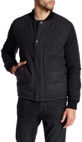 Kenneth Cole New York Reversible Bomber Jacket