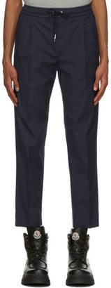 Moncler Navy Sportivo Track Pants