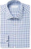 Etro - Slim-fit Plaid Cotton Shirt
