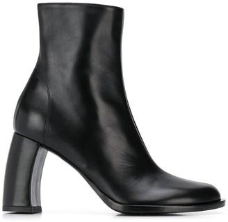 Ann Demeulemeester Chunky-Heel Ankle Boots