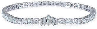 Kwiat 18kt white gold Riviera diamond bracelet