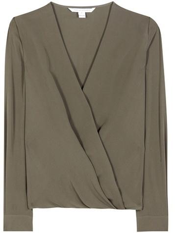 Diane von Furstenberg Marci silk blouse