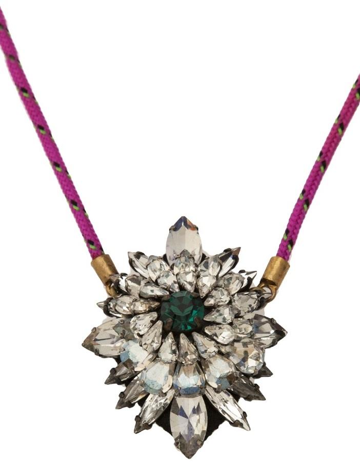 Shourouk 'Leitmotiv Argento' necklace