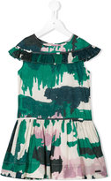 Burberry abstract print dress - kids - Cotton - 4 yrs