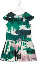 Burberry abstract print dress