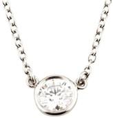 Tiffany & Co. Platinum Elsa Peretti 0.35ct Diamonds by the Yard Pendant Necklace
