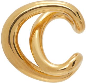 Charlotte Chesnais Gold Initial Ear Cuff
