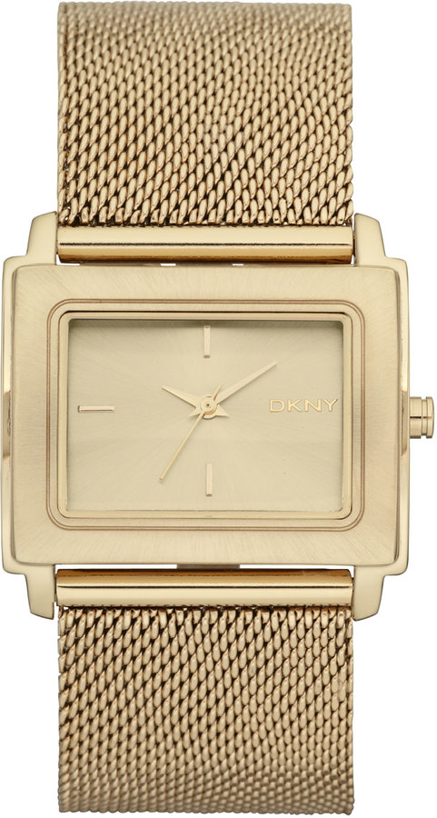 DKNY Tompkins Square Watch with Mesh Band
