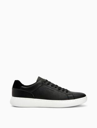 Calvin Klein Falconi Embossed Reptile Sneaker