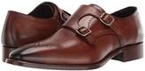 JM Collection J&M Collection Cormac Double Monk (Mahogany) Men's Shoes