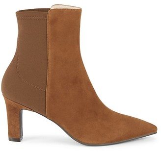 Stuart Weitzman Lauri Point-Toe Booties