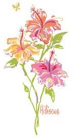 Bob Mackie Flatweave Green/Pink/Orange Rug