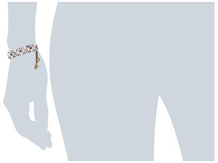 Betsey Johnson Mini Flower Wrap Bracelet