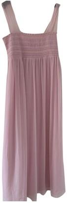 ALEXACHUNG Alexa Chung Pink Polyester Dresses