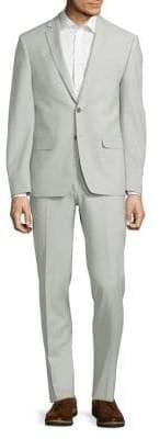 Calvin Klein Extra Slim-Fit Wool-Blend Suit