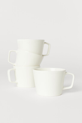 H&M 4-pack Ceramic Cups