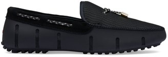 Swims Lace-Through Driver Loafers