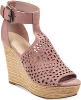Marc Fisher Hasina T-Strap Platform Wedge Sandals
