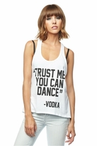 Local Celebrity Trust Me Nikki Tank in White