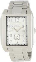 Esprit Men's ES102821005 Stainless-Steel Quartz Watch with Dial