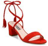 Sarah Jessica Parker Elope Suede Lace-Up Sandals