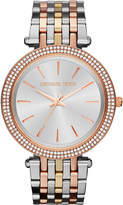 Michael Kors Mk3203 Darci Gold-toned And Stainless Steel Watch