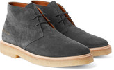 Common Projects - Washed-suede Desert Boots