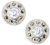 Judith Jack Women's Pave Stud Earrings