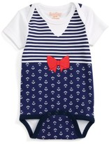 Infant Girl's Sara Kety Baby & Kids Print Bodysuit