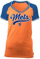 5th & Ocean Women's New York Mets Rhinestone Night T-Shirt